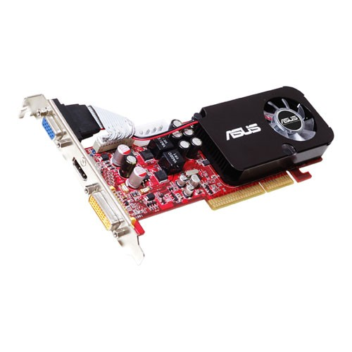 Placa video ASUS AH3450/DI/512MD2LP AMD ATI Radeon 3450, 512MB DDR2, 64bit, AGP8x