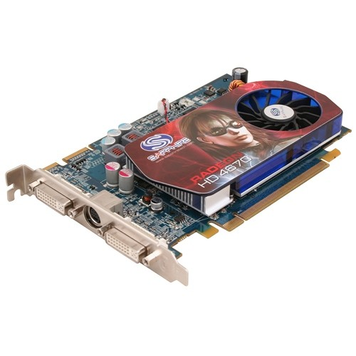 Placa video Sapphire SPHEHD4670HD1024 AMD ATI Radeon HD4670, 1024MB DDR3, 128bit, PCI-Ex