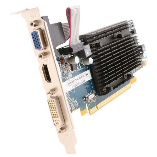 Placa video Sapphire SPHEHD5450HD1GD3 AMD ATI Radeon HD5450, 1024MB DDR3, 64bit, PCI-Ex