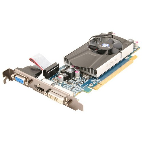 Placa video Sapphire SPHEHD6570HD1G AMD ATI Radeon HD6570, 1024MB DDR3, 128bit, PCI-Ex