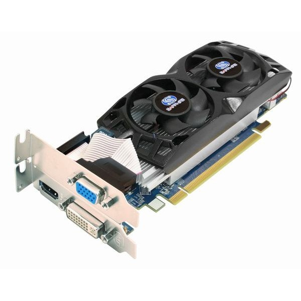 Placa video Sapphire SPHEHD5670HD512 AMD ATI Radeon HD5670, 512MB DDR5, 128bit, PCI-Ex