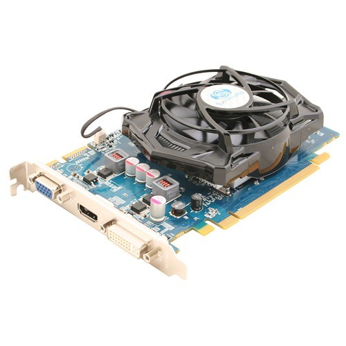 Placa video Sapphire SPHEHD5670HD1GD3 AMD ATI Radeon HD5670, 1024MB DDR3, 128bit, PCI-Ex