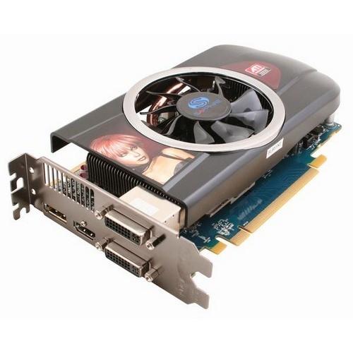 Placa video Sapphire SPHEHD5770HD1GD5 AMD ATI Radeon HD5770, 1024MB DDR5, 128bit, PCI-Ex