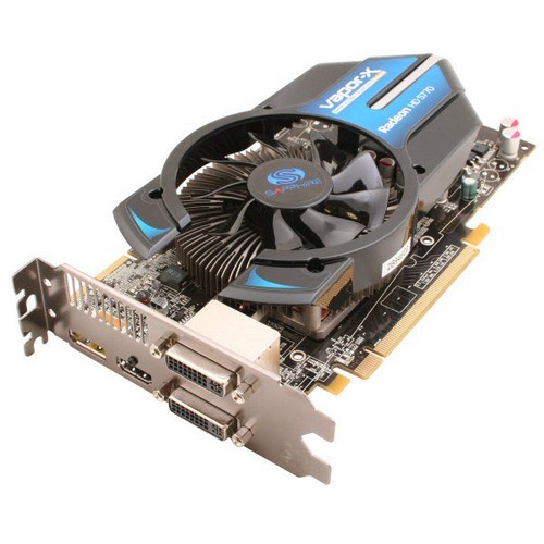 Placa video Sapphire SPHEHD5770VHD1G AMD ATI Radeon HD5770 Vapor-X, 1024MB DDR5, 128bit, PCI-Ex