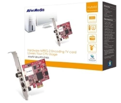 TV TUNER Avermedia Ultra PCI-E RDS, Hybrid, MPEG2 HW (Ultra-PciE-RDS)