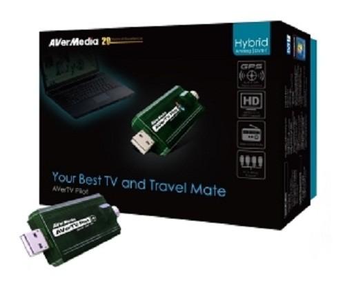 TV TUNER Avermedia Aver TV Pilot, Hybrid, Pen-Drive (AverTV-Pilot)