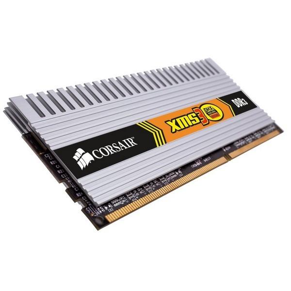 Memorie CORSAIR  2GB DDR3 1333MHz (Kit 2×1) radiator XMS  (TWIN3X2048-1333C9DHX)