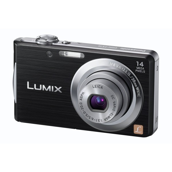 Aparat foto digital PANASONIC DMC-FS16EP-K, 14MP, zoom optic 4×, video HD (DMC-FS16EP-K)