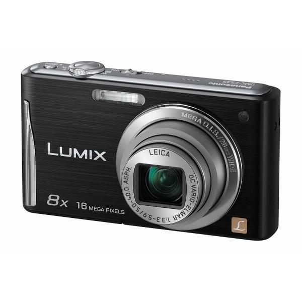 Aparat foto digital PANASONIC DMC-FS35EP-K, 16MP, zoom optic 8×, video HD (DMC-FS35EP-K)