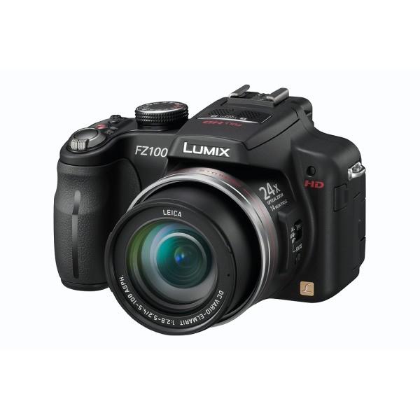 Aparat foto digital PANASONIC DMC-FZ100EP-K, 14MP, zoom optic 24×, video HD (DMC-FZ100EPK)