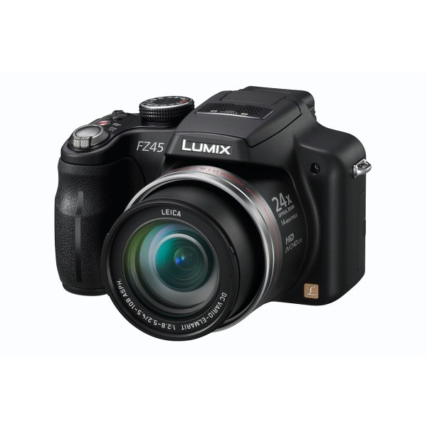 Aparat foto digital PANASONIC DMC-FZ45EP-K, 14MP, zoom optic 24×, video HD (DMC-FZ45EP-K)
