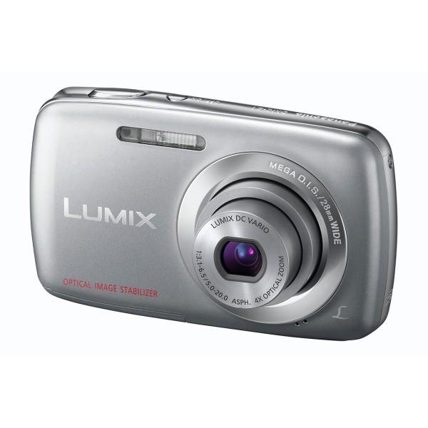 Aparat foto digital PANASONIC DMC-S1EP-S, 12MP, zoom optic 4×, video HD (DMC-S1EP-S)