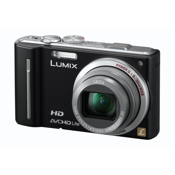 Aparat foto digital PANASONIC KIT-DMCTZ10K +SDR04, 12MP, zoom optic 12×, video HD (KIT-DMCTZ10K/SDR04)