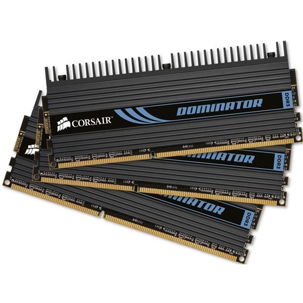 Memorie CORSAIR  6GB DDR3 1600MHz (Kit 3×2) radiator DHX+ (TR3X6G1600C8D)
