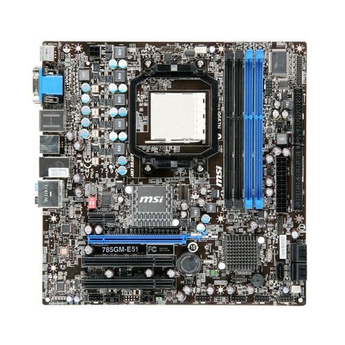 Placa de baza MSI 785GM-E51 AMD 785G, socket AM3
