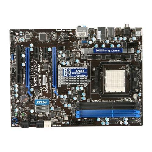 Placa de baza MSI 870A FUZION AMD 770G+SB710, socket AM3