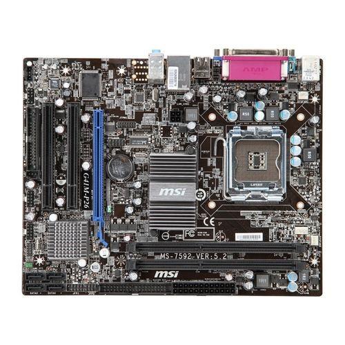 Placa de baza MSI G41M-P26 Intel G41, socket 775