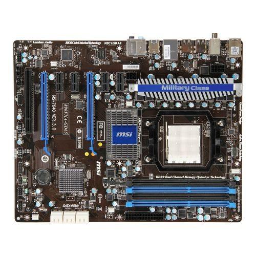 Placa de baza MSI 890FXA-GD65 AMD 890FX+SB850, socket AM3