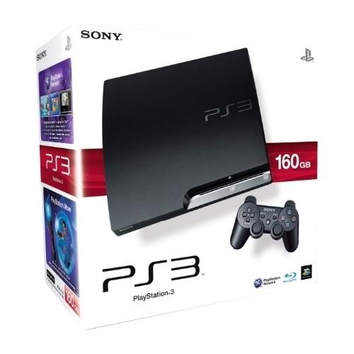 Consola SONY Consola PlayStation 3 Slim 160GB Black 2504 (CECH-2504A)
