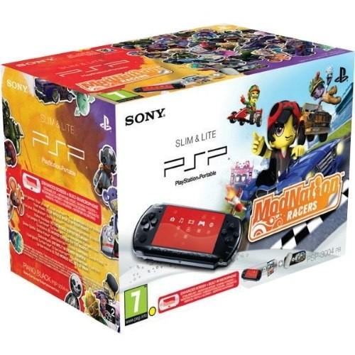 Consola SONY PlayStation Portable Black + joc ModNation + Pouch (SO-9117070)