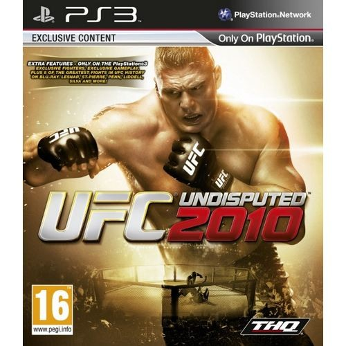 Joc consola THQ UFC Undisputed 2010 PS3 (THQ-PS3-UFC2010)