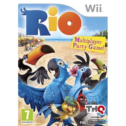 Joc consola THQ RIO Wii (THQ-WI-RIO)