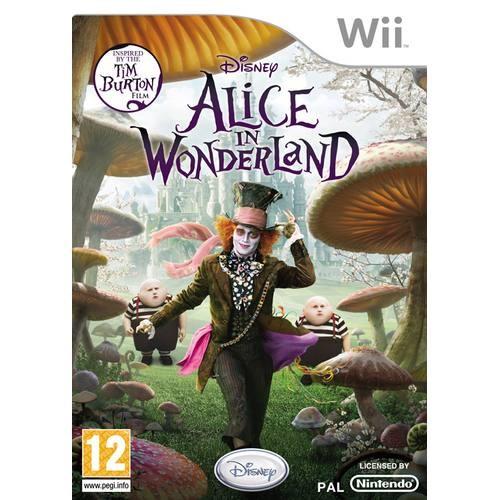 Joc consola Disney Alice in Wonderland Wii  (BVG-WI-ALICEINW)