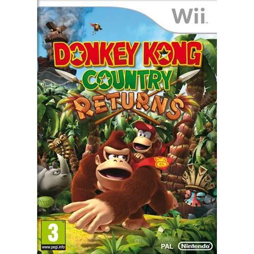 Joc consola Nintendo Donkey Kong Country Returns Wii (NIN-WI-DKONGCR)