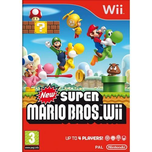 Joc consola Nintendo NEW Super Mario Bros. Wii (NIN-WI-NSMB)