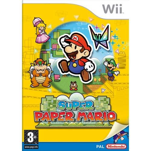 Joc consola Nintendo Super Paper Mario Wii (NIN-WI-SPM)