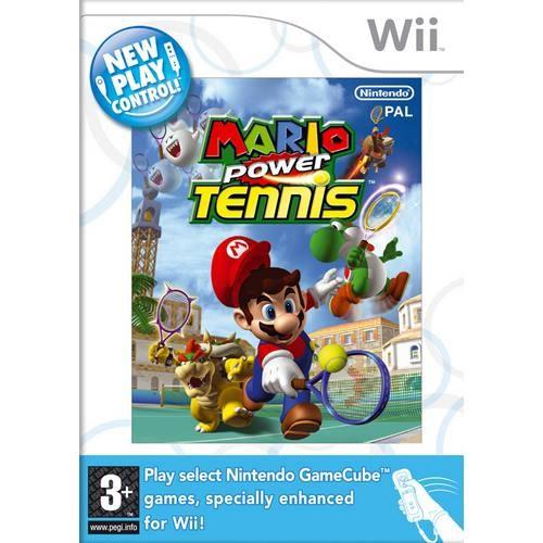 Joc consola Nintendo Mario Power Tennis Wii (NIN-WI-MPT)
