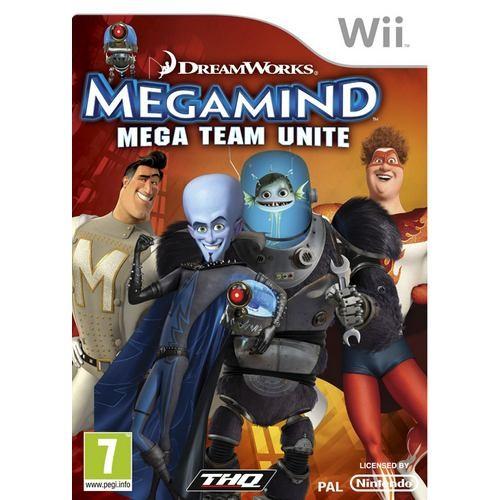 Joc consola THQ Megamind - Mega Team Unite Wii (THQ-WI-MEGAMIND)