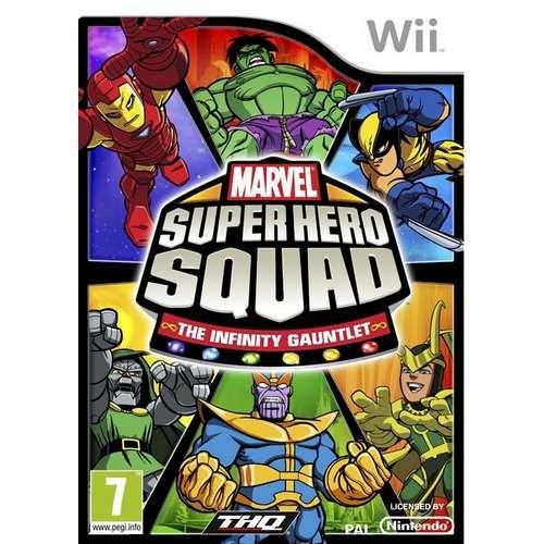 Joc consola THQ Marvel Super Hero Squad - The Infinity Gauntlet Wii (THQ-WI-MSHSIG)