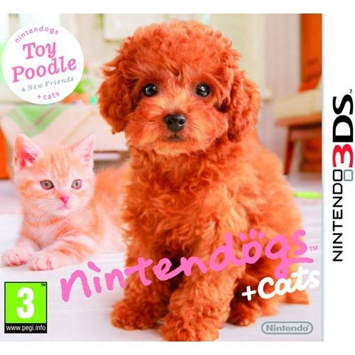 Nintendogs + Cats: Toy Poodle and New Friends 3DS