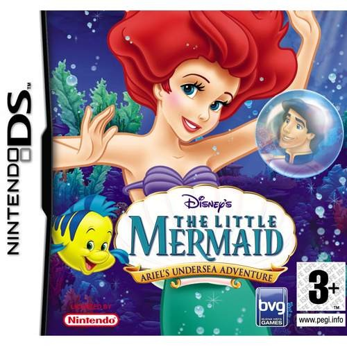 Joc consola Disney The Little Mermaid: Ariel's Undersea Adventure DS (BVG-DS-TLMAUA)