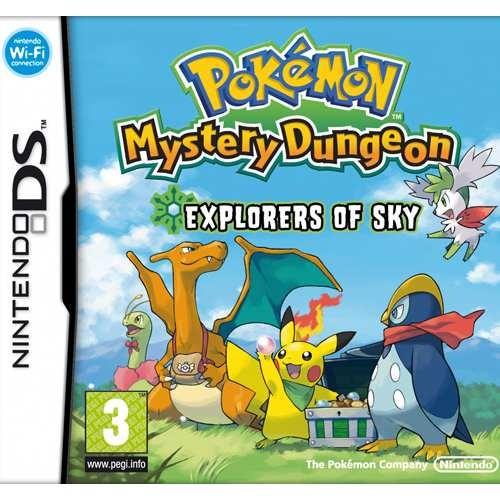 Joc consola Nintendo Pokémon Mystery Dungeon: Explorers of Sky DS (NIN-DS-POKEMSKY)