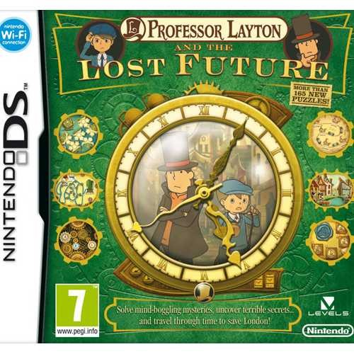 Joc consola Nintendo Professor Layton and the Lost Future DS (NIN-DS-PROFLATLF)