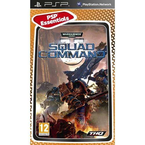 Joc consola THQ Warhammer 40.000 Squad Command PSP (THQ-PSP-DAWNOFWAR)