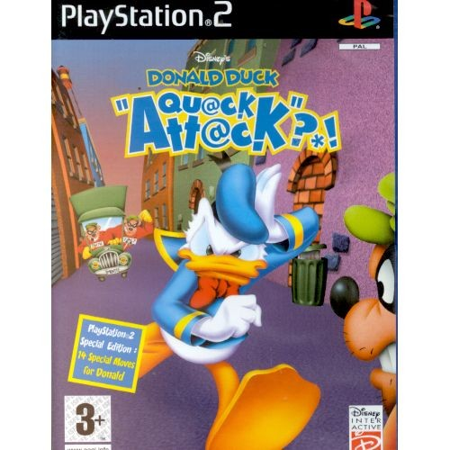 Joc consola Disney Donald Duck Quack Attack PS2 (BVG-PS2-DDQA)