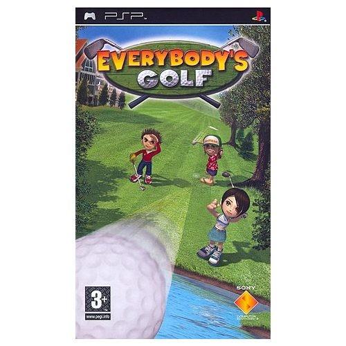 Joc consola SONY EVERYBODY'S GOLF pentru PSP (UCES-00012)