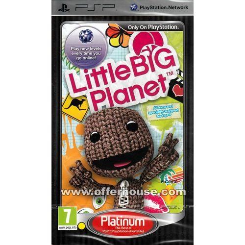 Joc consola SONY LITTLE BIG PLANET pentru PSP (UCES-01264/P)