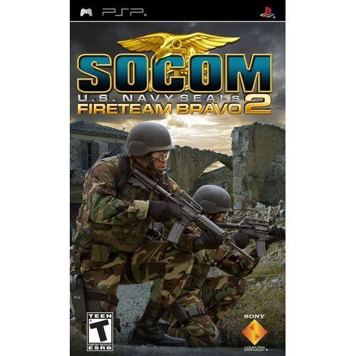 Joc consola SONY SOCOM: U.S. NAVY SEALS FIRETEAM BRAVO 2 pentru PSP (UCES-00543)