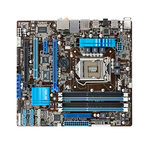 Placa de baza ASUS P8P67-M INTEL P67 Express, socket 1155