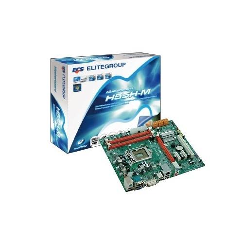 Placa de baza ECS H55H-M Intel H55, socket 1156