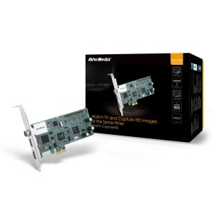 TV TUNER Avermedia Capture-HD, Hybrid, PCI-E, FM (Capture-HD)