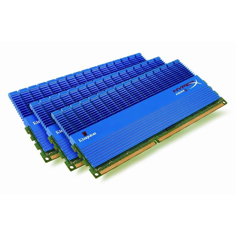Memorie Kingston  6GB DDR3 2000MHz (Kit of 3) HyperX (KHX2000C9ADTK3/6GX)