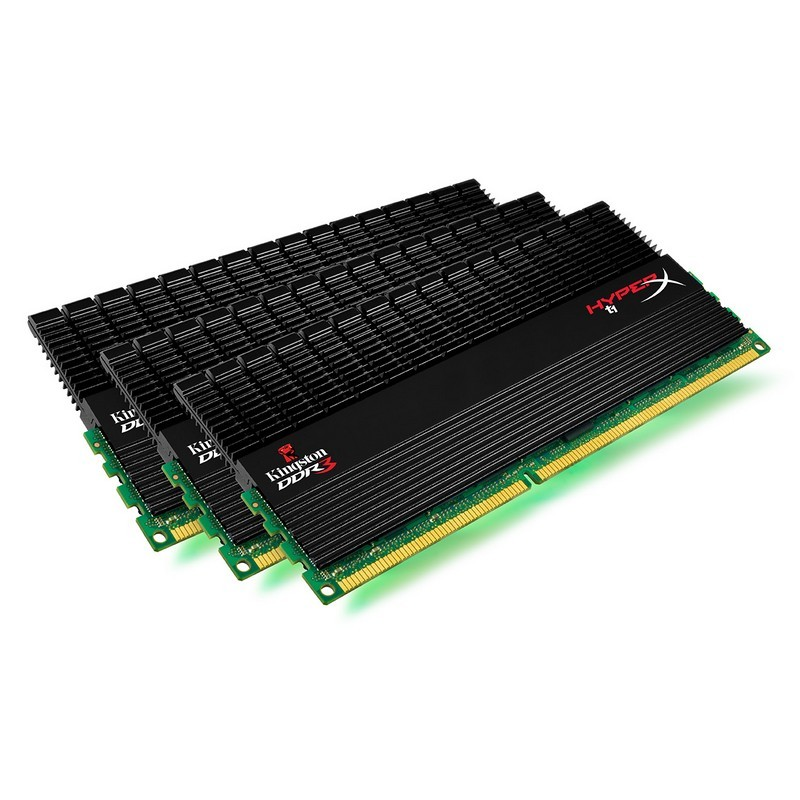 Memorie Kingston  24GB DDR3 1600MHz (Kit of 6) XMP (KHX1600CDTBK6/24GX)
