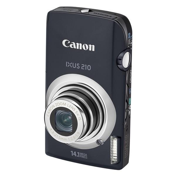 Aparat foto digital CANON Digital IXUS210IS negru 14.1MP, zoom optic 5×, video HD, HDMI (AJ4197B001AA)