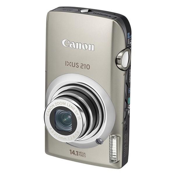 Aparat foto digital CANON Digital IXUS210IS argintiu 14.1MP, zoom optic 5×, video HD, HDMI (AJ4196B001AA)