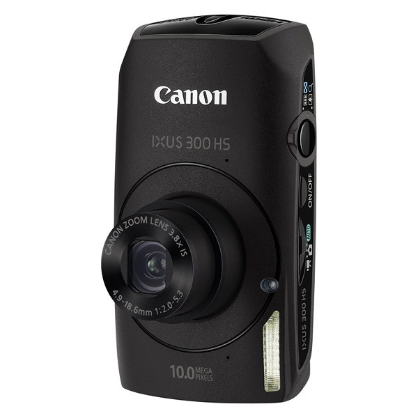 Aparat foto digital CANON IXUS 300HS negru, 10.0 MP CMOS, zoom optic 3,8×, video HD, HDMI (AJ4252B001AA)